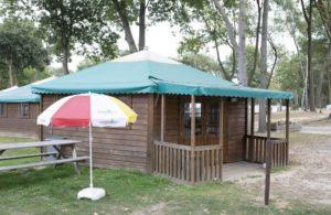 Kampeerbungalow Camping De Berckt