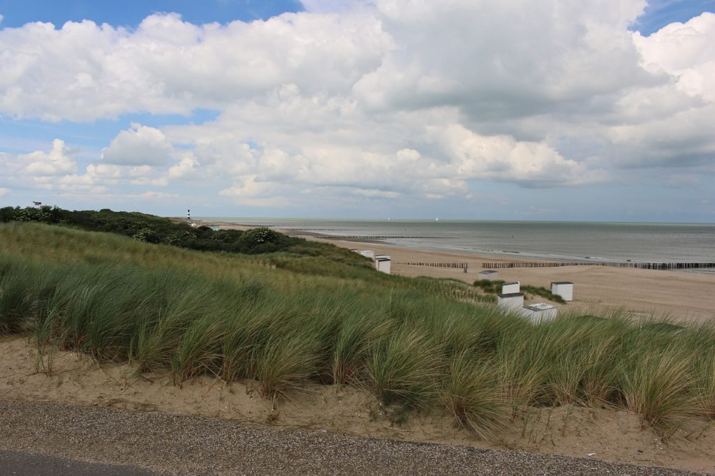 Urlaub in Zeeland am Strand