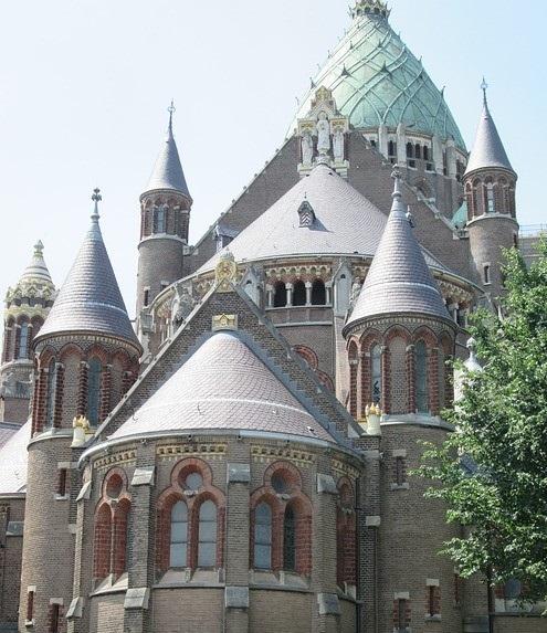 Koepelkathedraal in Haarlem.