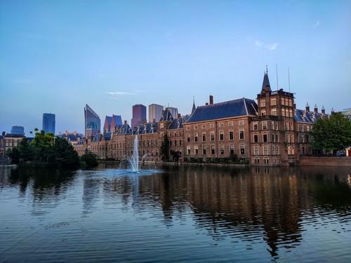 Regierungsgebäude der Niederlanden.